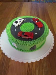 Ken Star Track Birthday Cake