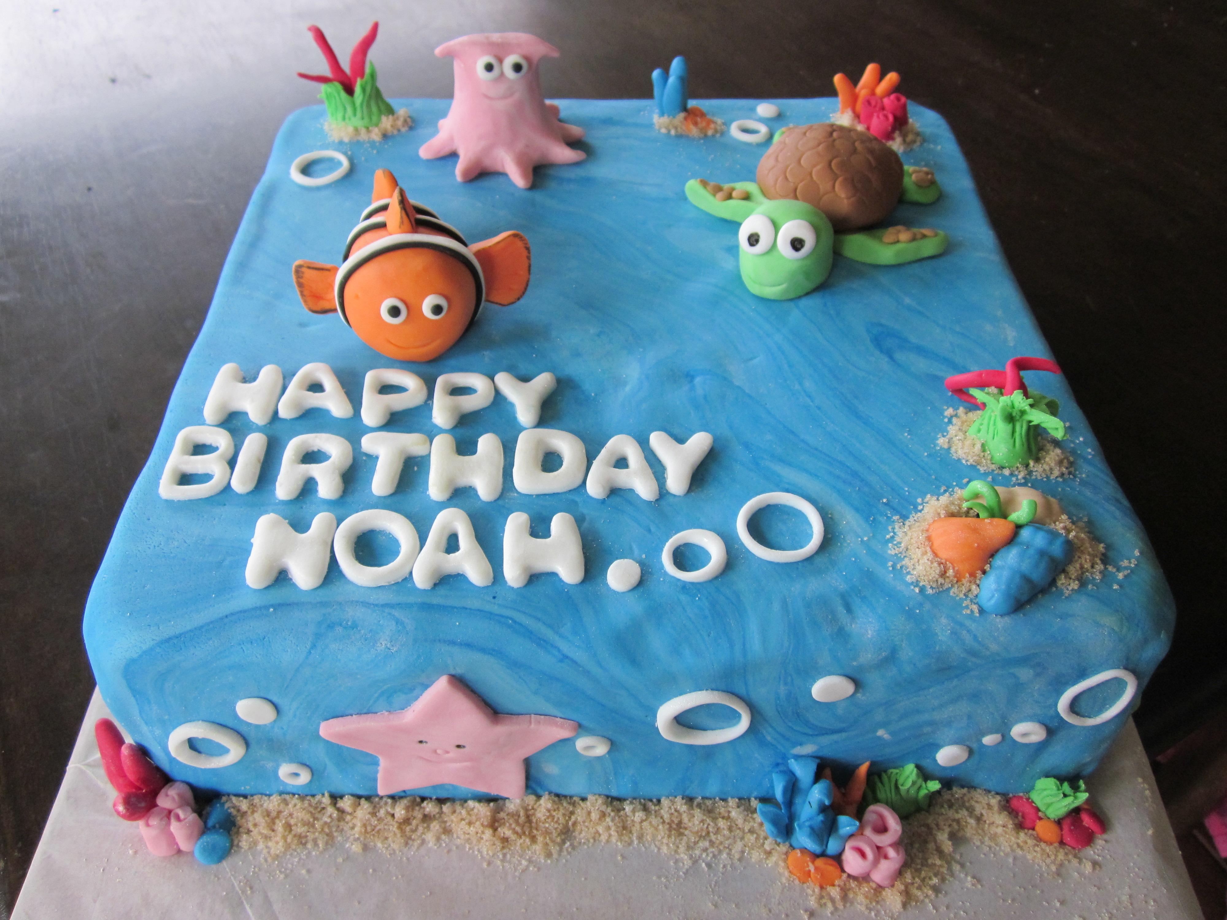 Cake Design Nemo : Nemo Cake Coastal Cake Design