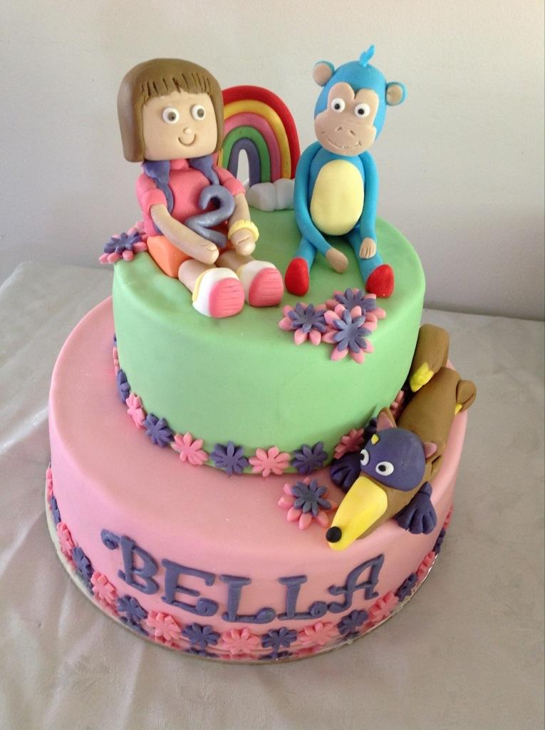 Dora Cake Coastal Cake Design