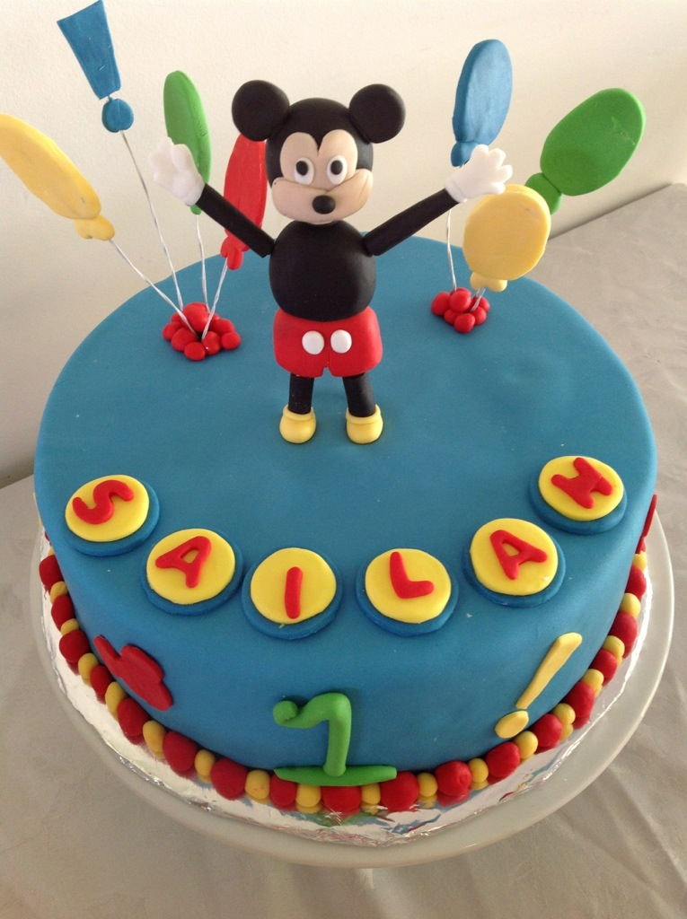 Mickey Mouse Club Cake Coastal Cake Design