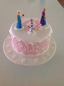 Pink Frozen cake