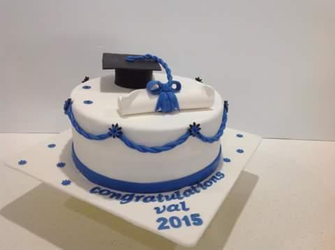 Graduation Cake Coastal Cake Design