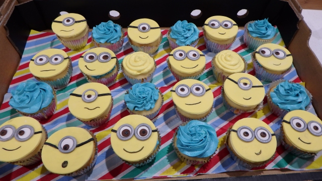 Minion Cupcakes Coastal Cake Design