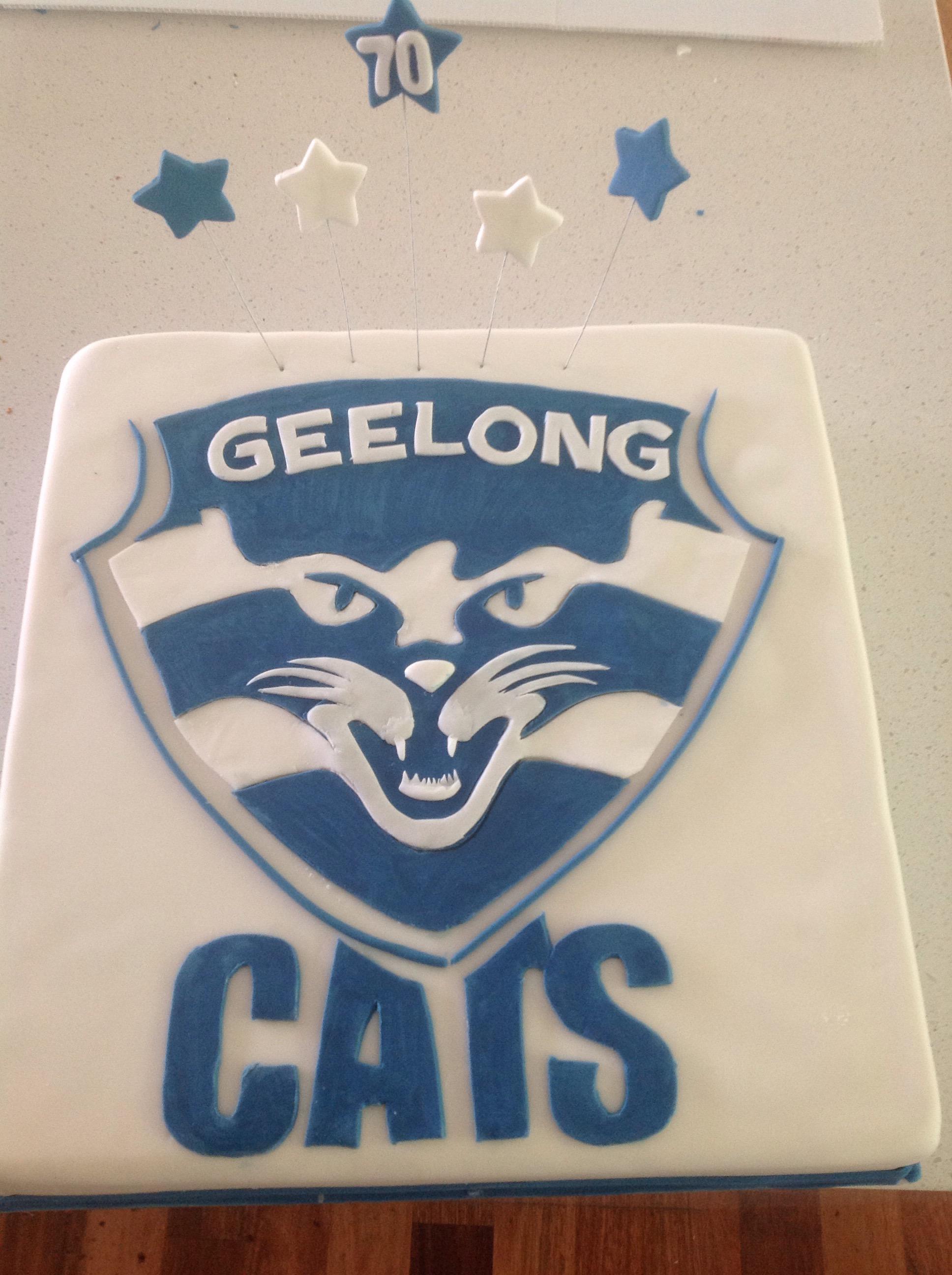 Afl Geelong Cats Cake Coastal Cake Design